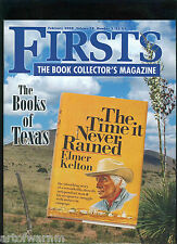FIRSTS  -  FEB.    2008  The  Book Collectors  modern 1st editions  magazine