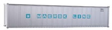HO Scale Walthers 40' Shipping Container Maersk Line 1970's Era Intermodal