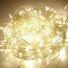 String Fairy Lights Battery Operated Party Porch Patio Decor 2M 20LED Warm White