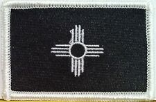 New Mexico State Flag Iron-On Combat Patch MC Biker Emblem Tactical Military #27