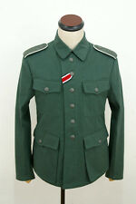 TAILORED WWII German M42 heer summer HBT reed green field tunic