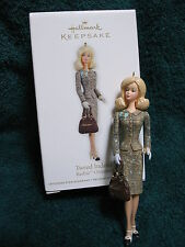 Barbie Hallmark Ornament 2012  - Tweed Indeed - Barbie Fashion Model Collection