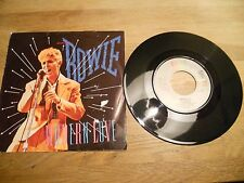 DAVID BOWIE MODERN LOVE(+ LIVE VERSION) 1983 DUTCH SINGLE USED EMI AMERICA R.I.P