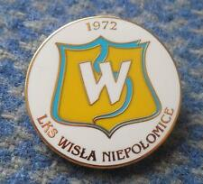 WISLA NIEPOLOMICE POLAND FOOTBALL FUSSBALL SOCCER ENAMEL PIN BADGE