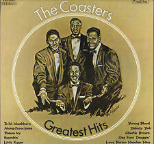 "THE COASTERS ""GREATEST HITS"" DOO WOP RHYTHM & BLUES FUNK LP POWER PAK 310"