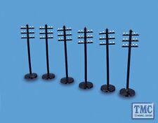 5080 Modelscene OO/HO Gauge Telegraph Poles Pack of 6