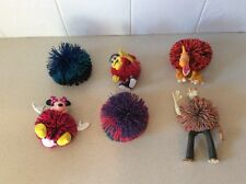 Lot of 6 Vintage Koosh BALL Critters