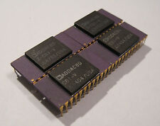 4x DAC80 Ceramic CPU Chips For Your Collection CPU IC logic gold ADDAC80