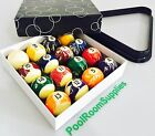 Kelly Pool Marble Marbleised BALLS Design 2 Inch and Triangle Birthday Gift SET