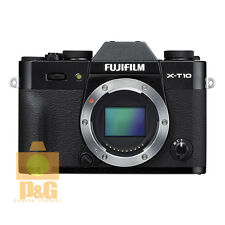NEW BOXED FUJIFILM X-T10 XT10 CAMERA BODY ONLY BLACK