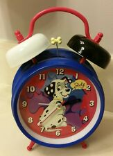 Disney Store 101 Dalmation Twin Bell Alarm Clock Dog Lover Gift