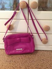 LOVELY NINE WEST PURPLE/PINK MESSENGER BAG USED TWICE GREAT CONDITION