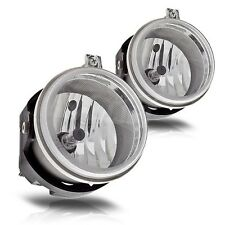 Pair Chrysler Sebring Pacifica Dodge Challenger Nitro Charger Clear Fog Lights