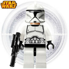 LEGO Star Wars Minifigure - Clone Trooper c/w Blaster ( 75000 , 75015 , 75016 )