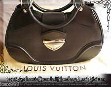 "100% AUTHENTIC LOUIS VUITTON Black Epi ""Sac Montaigne"" Shoulder Bag"