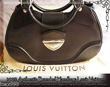 """100% AUTHENTIC LOUIS VUITTON Black Epi """"Sac Montaigne"""" Shoulder Bag"""