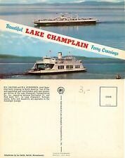 North America - Lake Champlain Ferry Crossings MV Valcour Adirondack (S-L XX182)