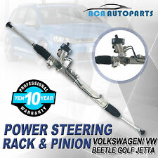 Jetta Power Steering Rack and Pinion Complete VW Golf Beetle VOLKSWAGEN 99-07