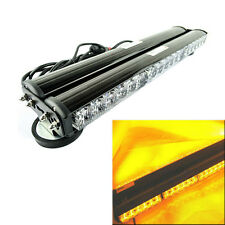 New 12V 2*18 LED Amber Magnetic Car Flashing Lights Bar Emergency Warning Lamp