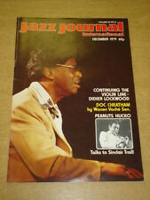 JAZZ JOURNAL INTERNATIONAL VOL 32 #12 1979 DECEMBER DOC CHEATHAM PEANUTS HUCKO