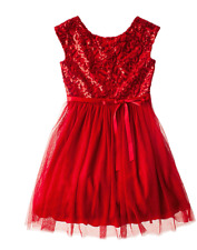 GIRLS Speechless Sequin Bodice Tulle Dress SIZE 12 BEAUTIFUL FOR YOUR PRINCESS