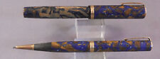 Waterman Lady Patricia Pen and Pencil Set Blue-bronze
