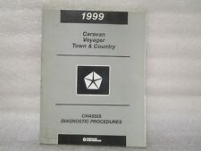 1999 CHASSIS DIAGNOSTIC PROCEDURES CARAVAN,VOYAGER,TOWN AND COUNTRY 81-699-98078