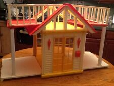 Vintage 1982 Mattel BARBIE Dream House folding COTTAGE