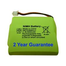 Rechargeable Battery Pack for BT Verve 450 410 Cordless Phones 2.4V 600mAh NiMH
