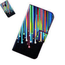 Meteor Leather Card Wallet Phone Cover Case For Samsung Galaxy S3 III Mini i8190
