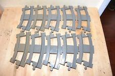 Lot of 10 Lego Duplo Curved Train track, works for Duplo Thomas and Regular