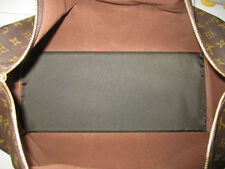 Dark Brown Base Shaper Liner that fit the Louis Vuitton Keepall 50 Bag