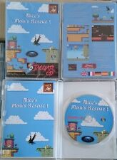 Alice's Mom's Rescue platformer game Atari Jaguar CD & PC homebrew NEW & SEALED