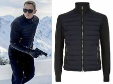 SPECTRE James Bond knitted sleeve bomber jacket - Daniel Craig Bomber Jacket