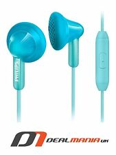 Philips SHE3015TL/00 In Ear Handsfree Headphones Earphones - Turquoise