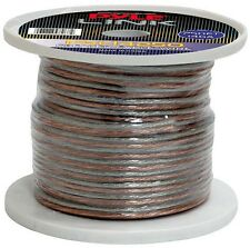 NEW Pyle PSC14250 14 Gauge 250 ft. Spool of High Quality Speaker Zip Wire