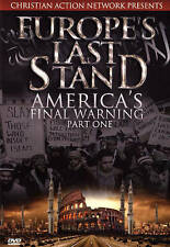 Europes Last Stand: Americas Final Warning, Part 1 (DVD, 2015) - BRAND NEW