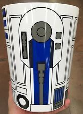 Star Wars R2D2 Waste Basket Trash Can Kid Bathroom Decorations *New*