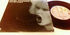 Hazel Oconnor - Give Me An Inch - Original  1980 Picture Cover AMS 7569