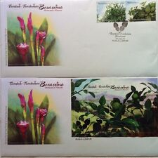 Malaysia FDC with MS & Stamps (24.05.2012) - Aromatic Plants