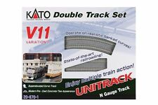 NEW KATO UNITRACK 20-870 V11 DOUBLE TRACK SET