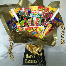 XXL RETRO SWEET HAMPER BOUQUET (GREAT EASTER GIFT)