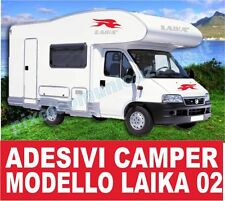 KIT ADESIVI CAMPER LAIKA 02 STICKERS TUNING