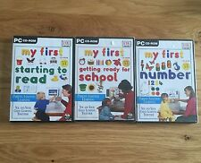 My First CD-Rom: Getting Ready For School First Numbers Starting to Read Games
