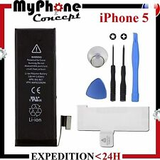 Batterie interne neuve pour iphone 5 + outils + adhésif