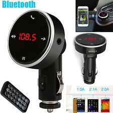 Wireless Bluetooth LCD MP3 Player Car Kit SD MMC USB FM Transmitter Modulator