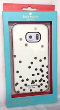 NEW Kate Spade N.Y. Hybrid Case for Samsung Galaxy S6 Edge - Cream/Gold Dot/Pink