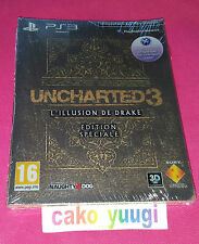 UNCHARTED 3 L'ILLUSION DE DRAKE EDITION SPECIALE  SONY PS3 SOUS BLISTER FRANCAIS