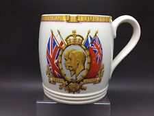 Copeland Spode Commemorative Silver Jubilee Mug - King George V  Queen Mary 1935