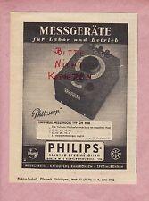 BERLIN, Werbung 1942, Philips-Electro-Special GmbH Philoscop Messgeräte Labor